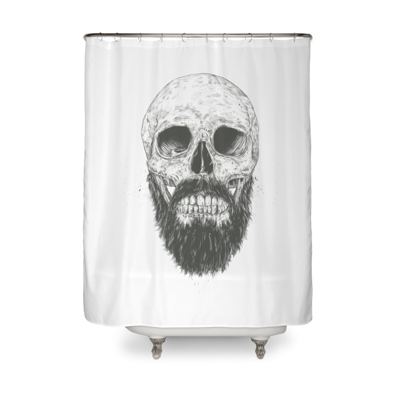 The beard is not dead Home Shower Curtain by Balazs Solti
