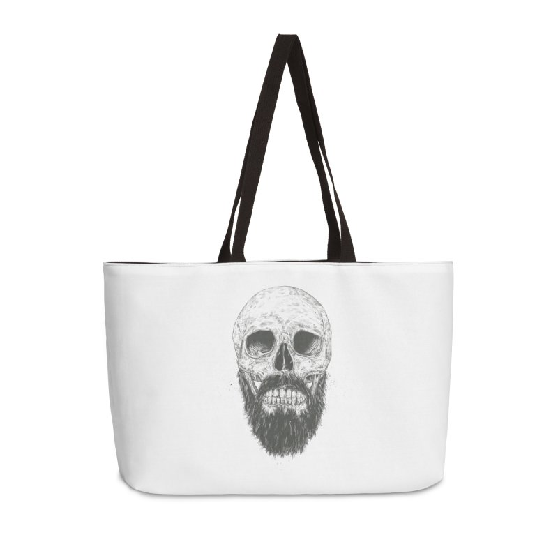 The beard is not dead Accessories Weekender Bag Bag by Balazs Solti