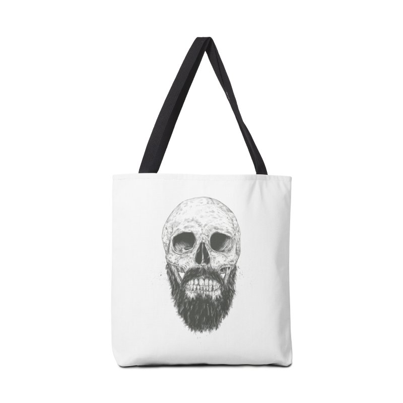 The beard is not dead Accessories Tote Bag Bag by Balazs Solti