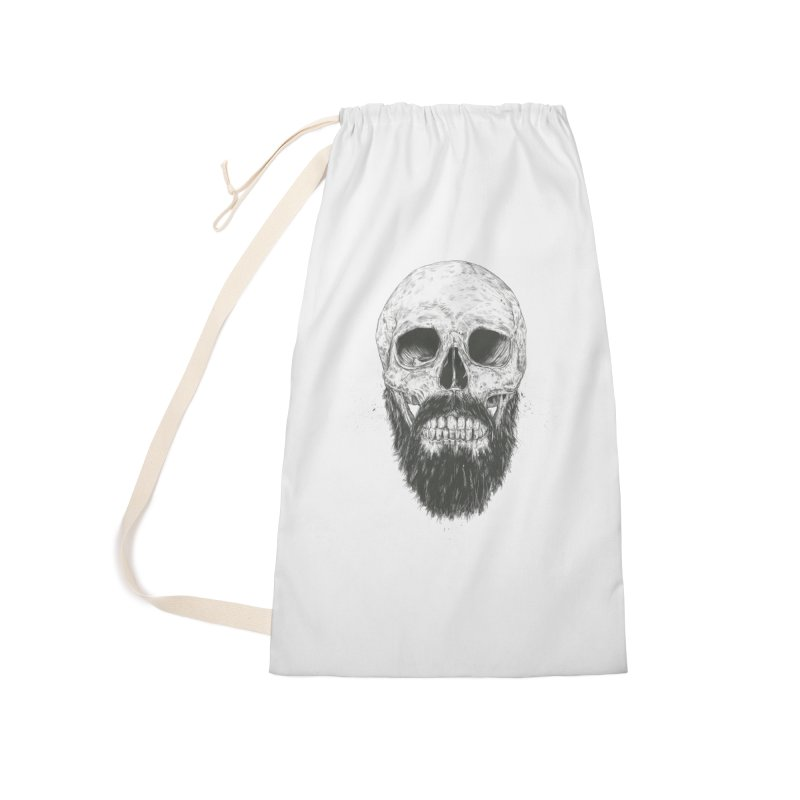 The beard is not dead Accessories Laundry Bag Bag by Balazs Solti