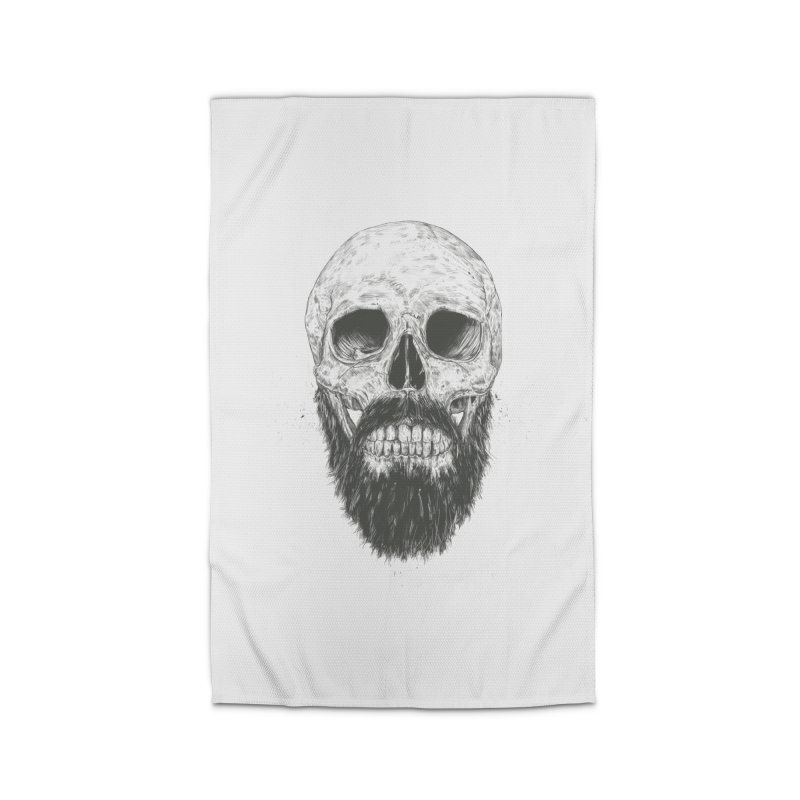 The beard is not dead Home Rug by Balazs Solti