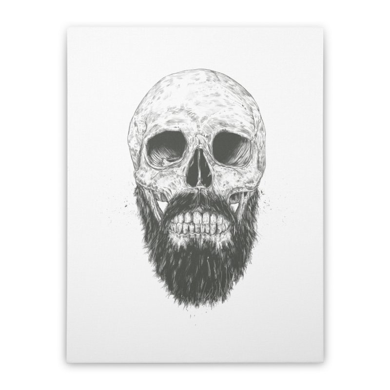 The beard is not dead Home Stretched Canvas by Balazs Solti