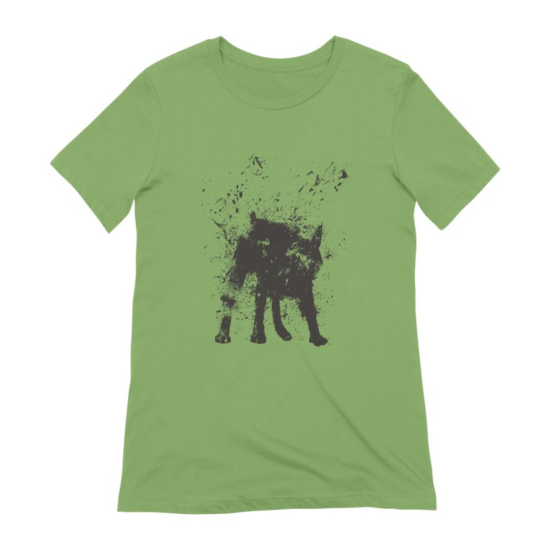 Wet dog Women's Extra Soft T-Shirt by Balazs Solti