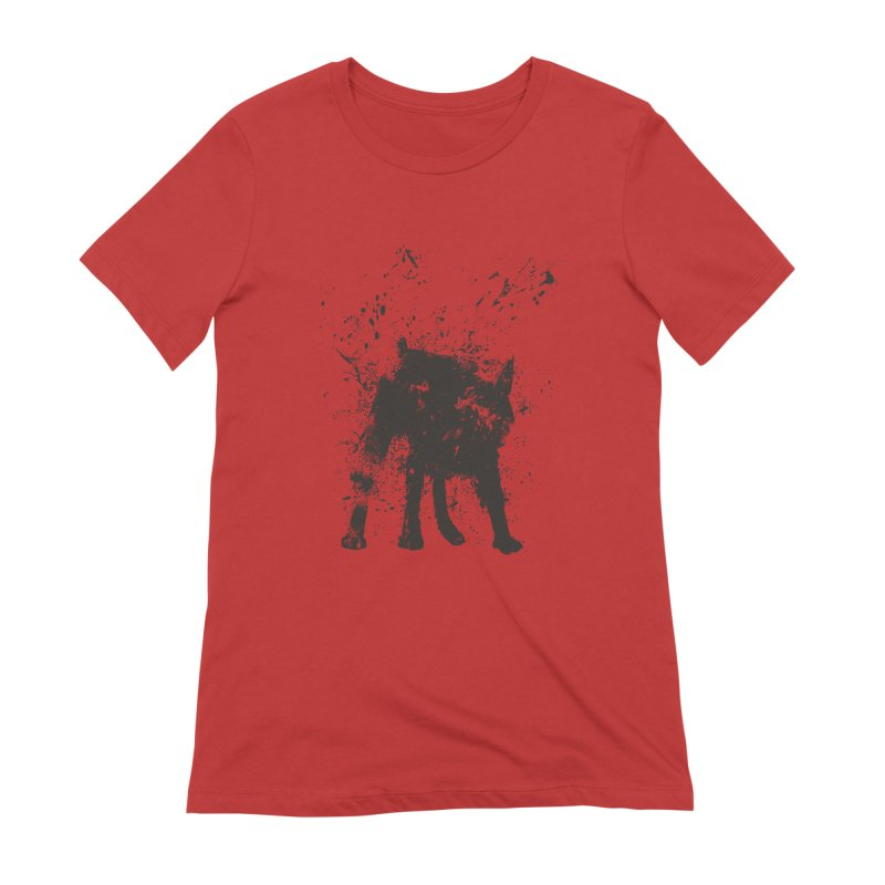 Wet dog Women's Extra Soft T-Shirt by Balazs Solti