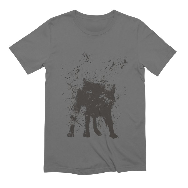 Wet dog Men's T-Shirt by Balazs Solti