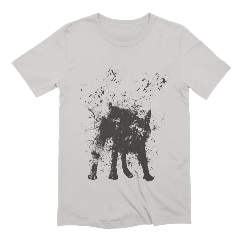 Wet dog Men's Extra Soft T-Shirt by Balazs Solti