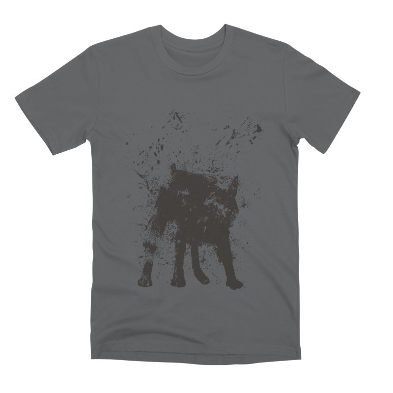 Wet dog Men's Premium T-Shirt by Balazs Solti