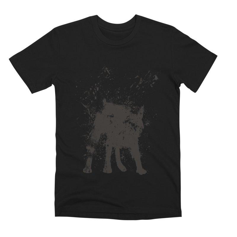 Wet dog Men's T-Shirt by Balazs Solti