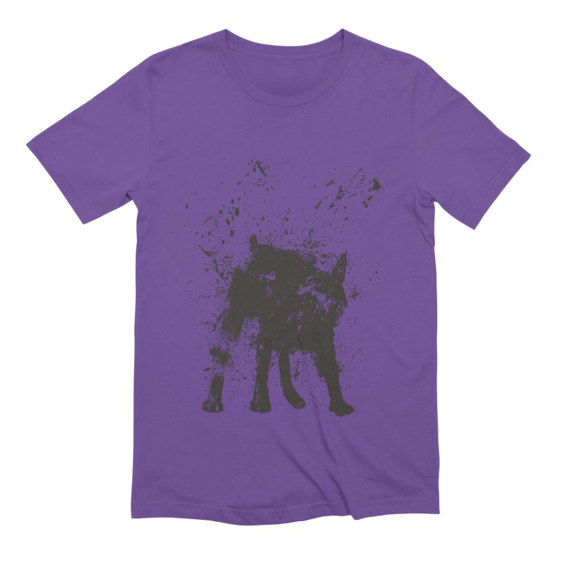 Wet dog Men's Extra Soft T-Shirt by Balazs Solti
