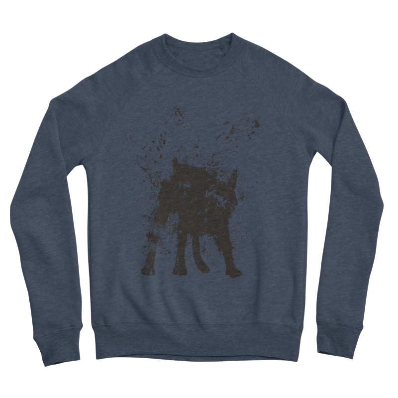 Wet dog Men's Sponge Fleece Sweatshirt by Balazs Solti