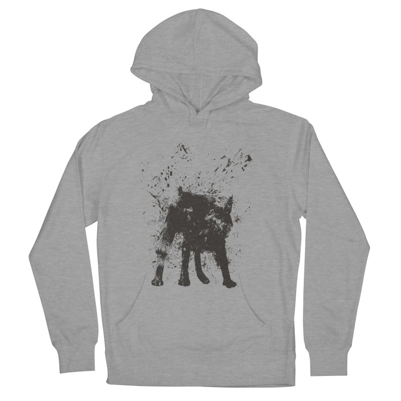 Wet dog Women's Pullover Hoody by Balazs Solti