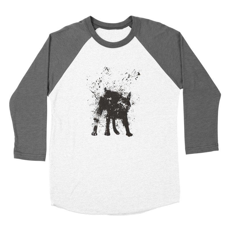 Wet dog Women's Longsleeve T-Shirt by Balazs Solti