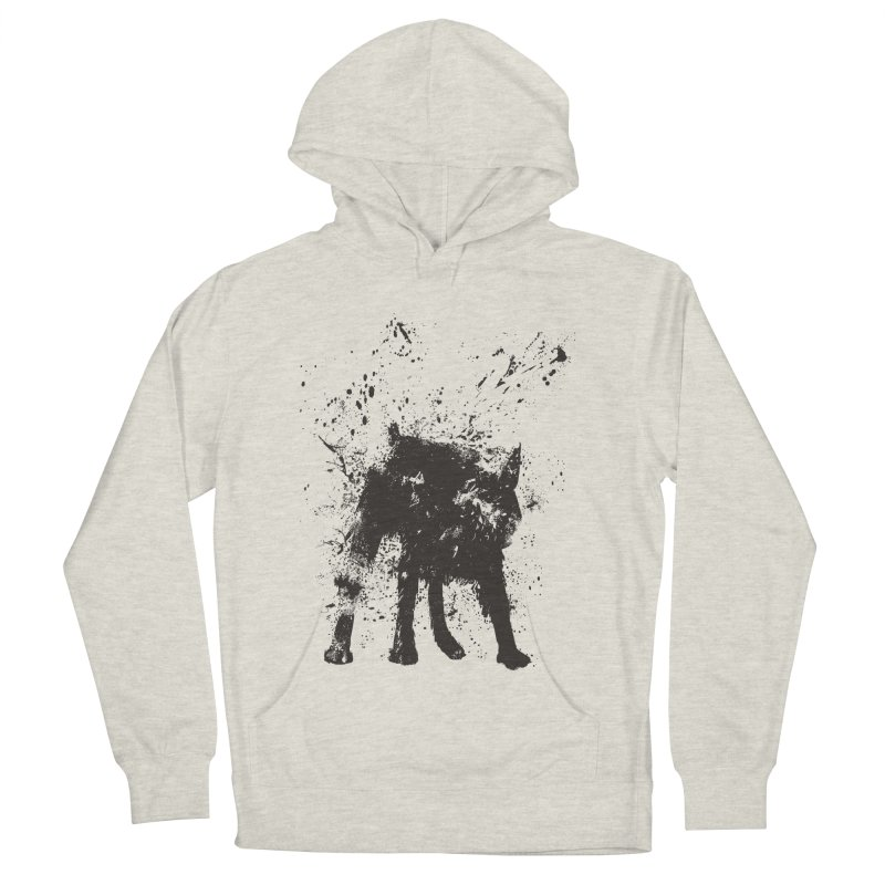 Wet dog Men's French Terry Pullover Hoody by Balazs Solti