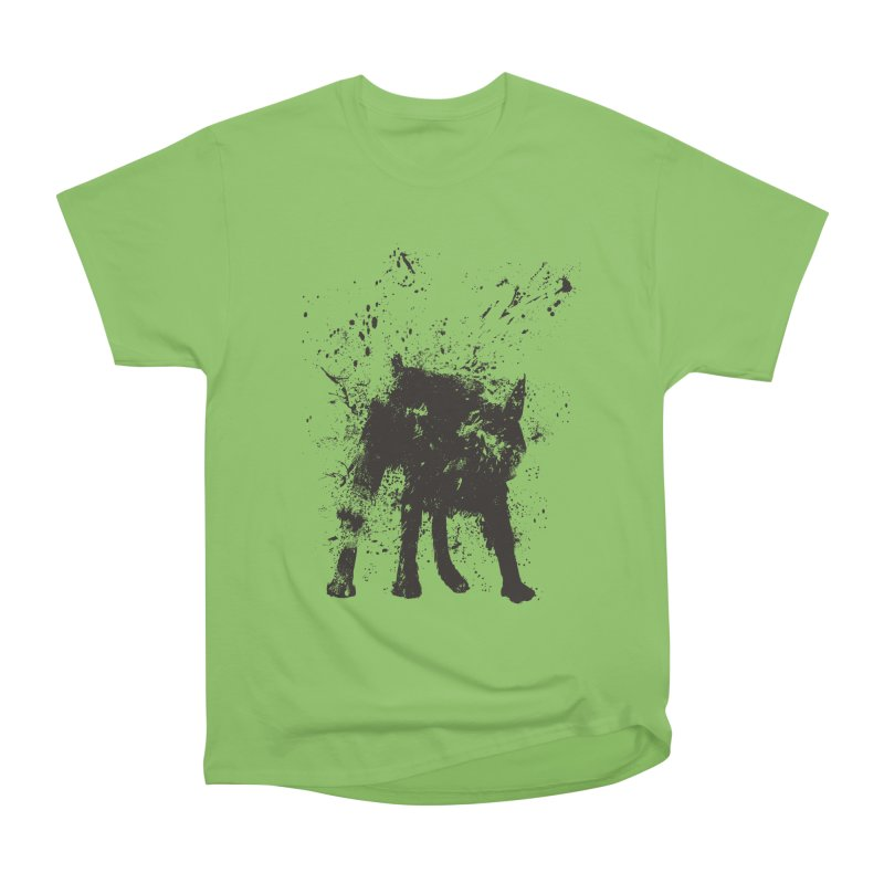 Wet dog Women's Heavyweight Unisex T-Shirt by Balazs Solti