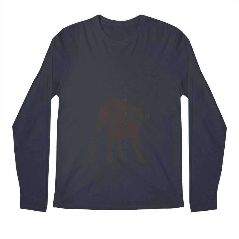 Wet dog Men's Regular Longsleeve T-Shirt by Balazs Solti