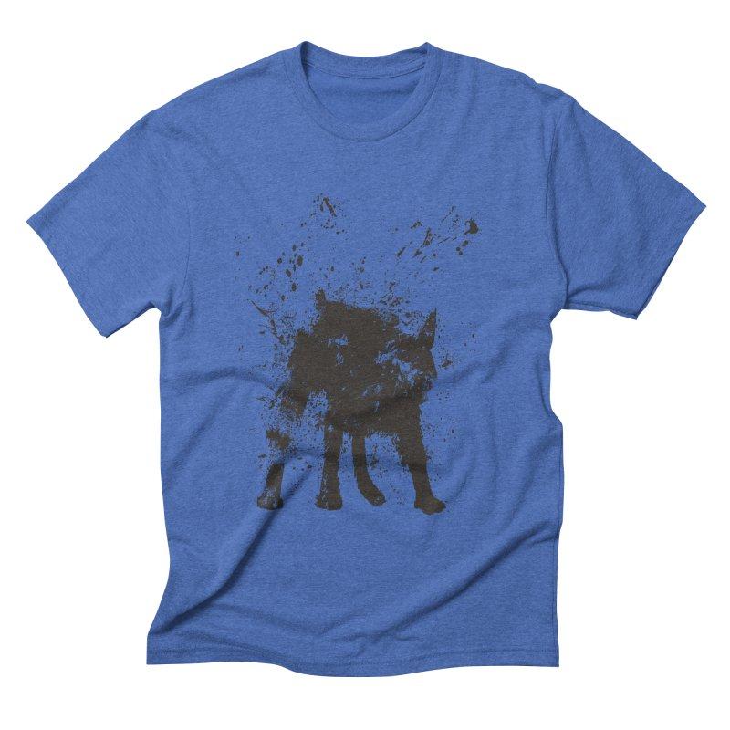 Wet dog Men's Triblend T-Shirt by Balazs Solti