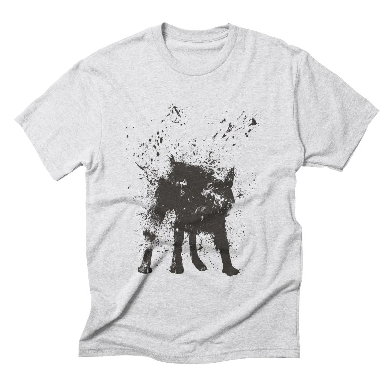 Wet dog Men's Triblend T-Shirt by Balazs Solti