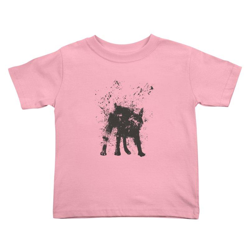 Wet dog Kids Toddler T-Shirt by Balazs Solti