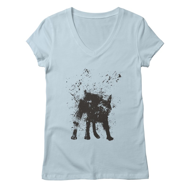 Wet dog Women's  by Balazs Solti
