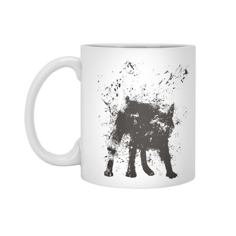 Wet dog Accessories Mug by Balazs Solti