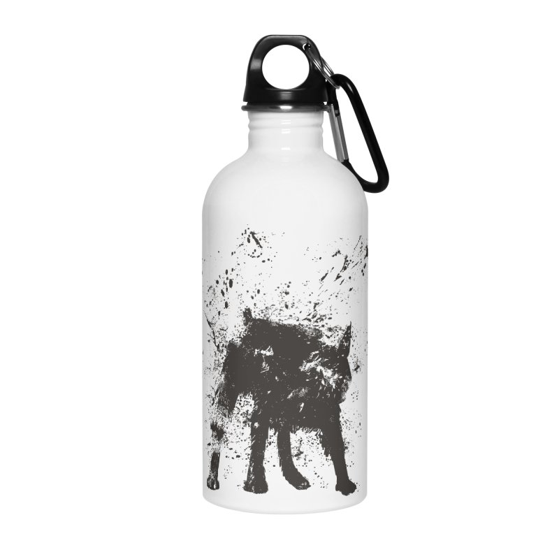 Wet dog Accessories Water Bottle by Balazs Solti