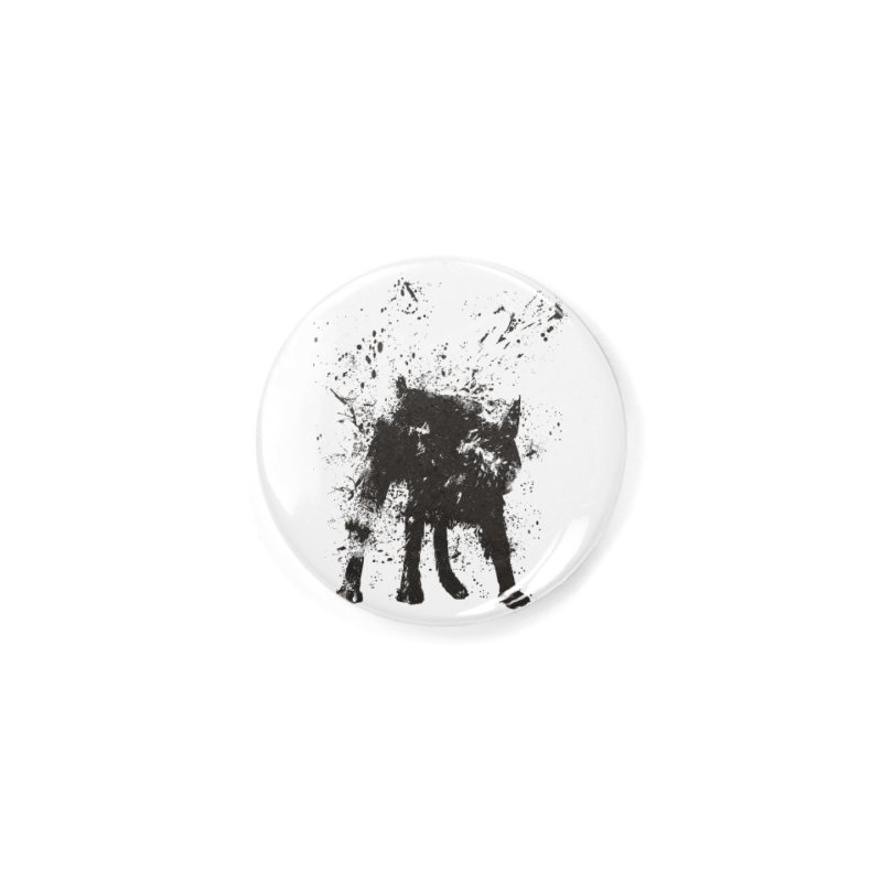 Wet dog Accessories Button by Balazs Solti