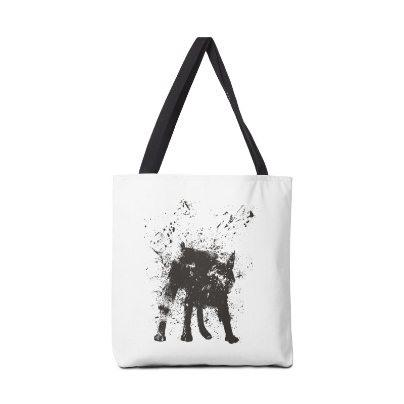 Wet dog Accessories Tote Bag Bag by Balazs Solti