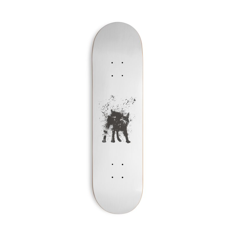 Wet dog Accessories Skateboard by Balazs Solti