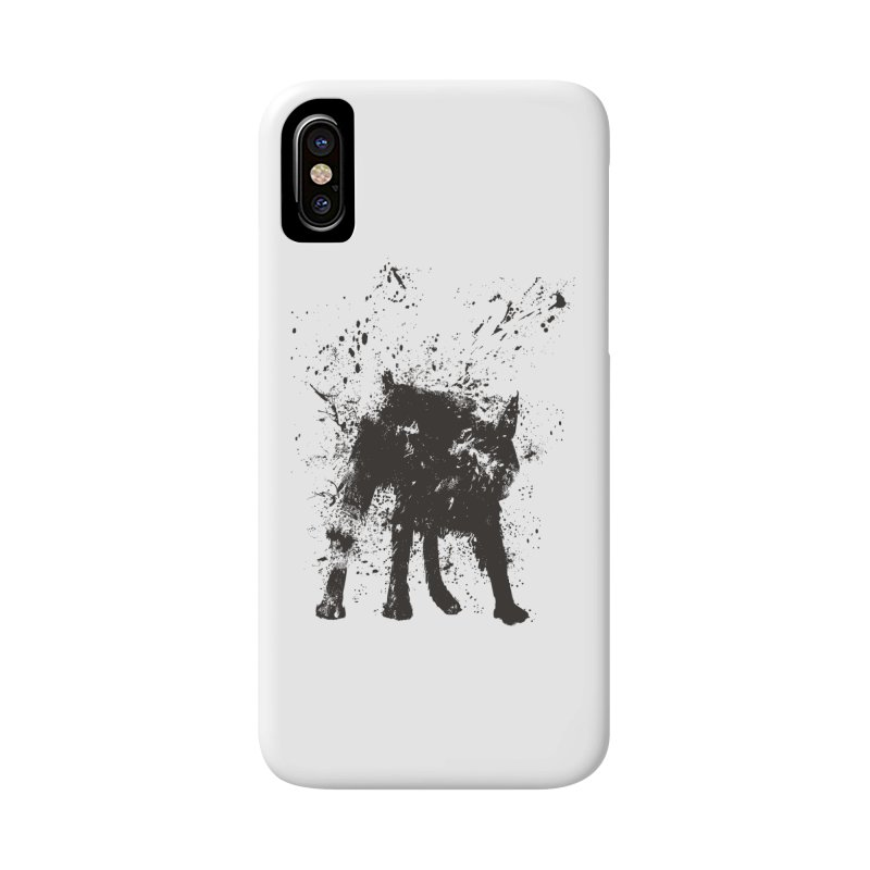 Wet dog Accessories Phone Case by Balazs Solti