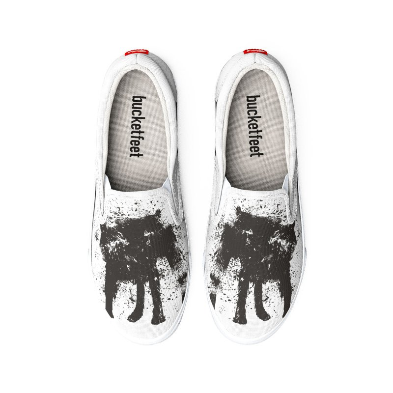 Wet dog Women's Shoes by Balazs Solti