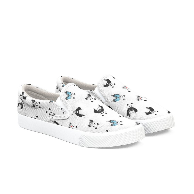 Panda pattern Women's Shoes by Balazs Solti