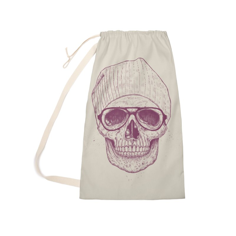 Cool skull Accessories Laundry Bag Bag by Balazs Solti