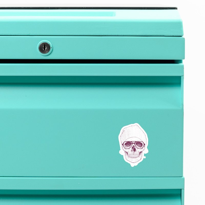 Cool skull Accessories Magnet by Balazs Solti