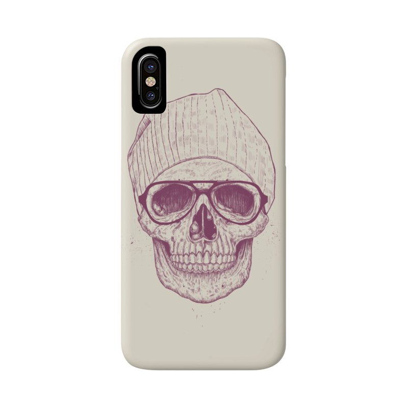Cool skull Accessories Phone Case by Balazs Solti