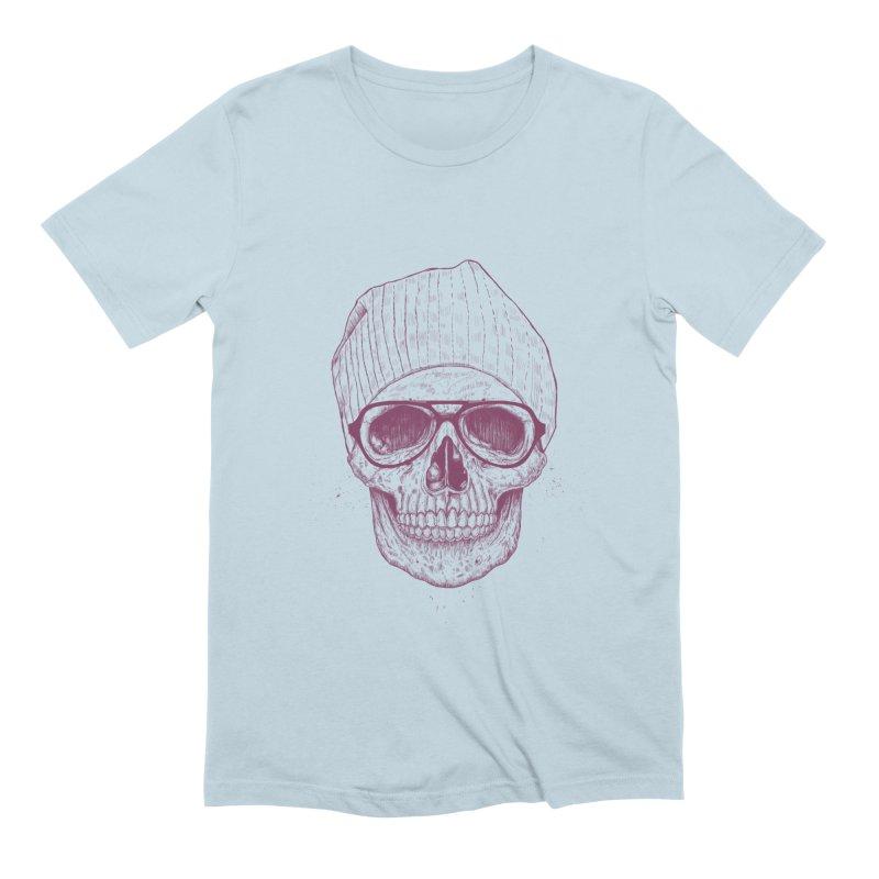 Cool skull Men's Extra Soft T-Shirt by Balazs Solti