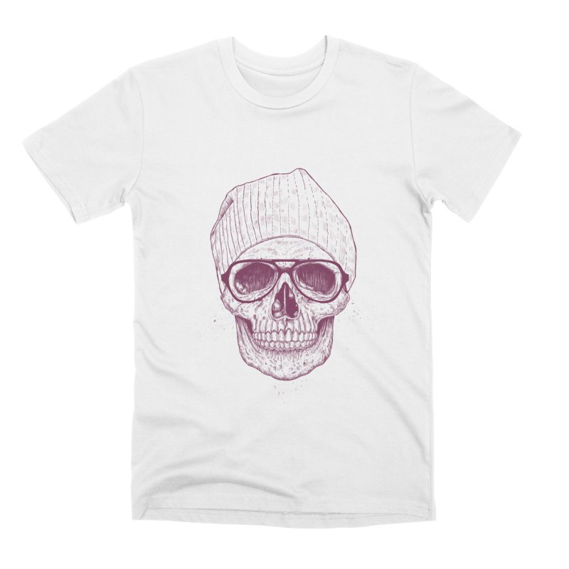 Cool skull Men's Premium T-Shirt by Balazs Solti