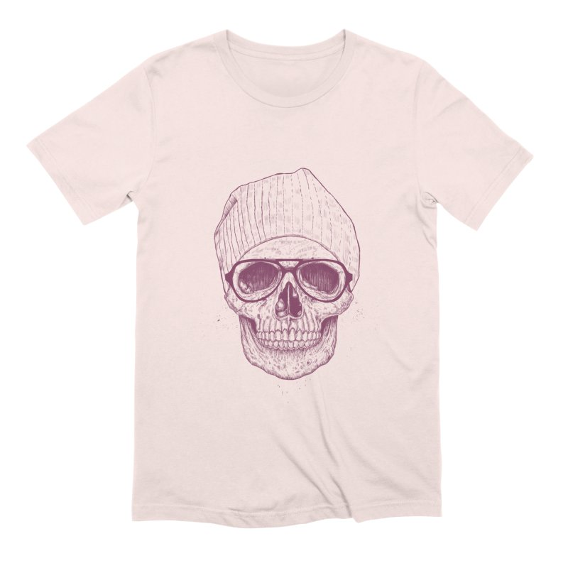 Cool skull Men's Extra Soft T-Shirt by Balazs Solti