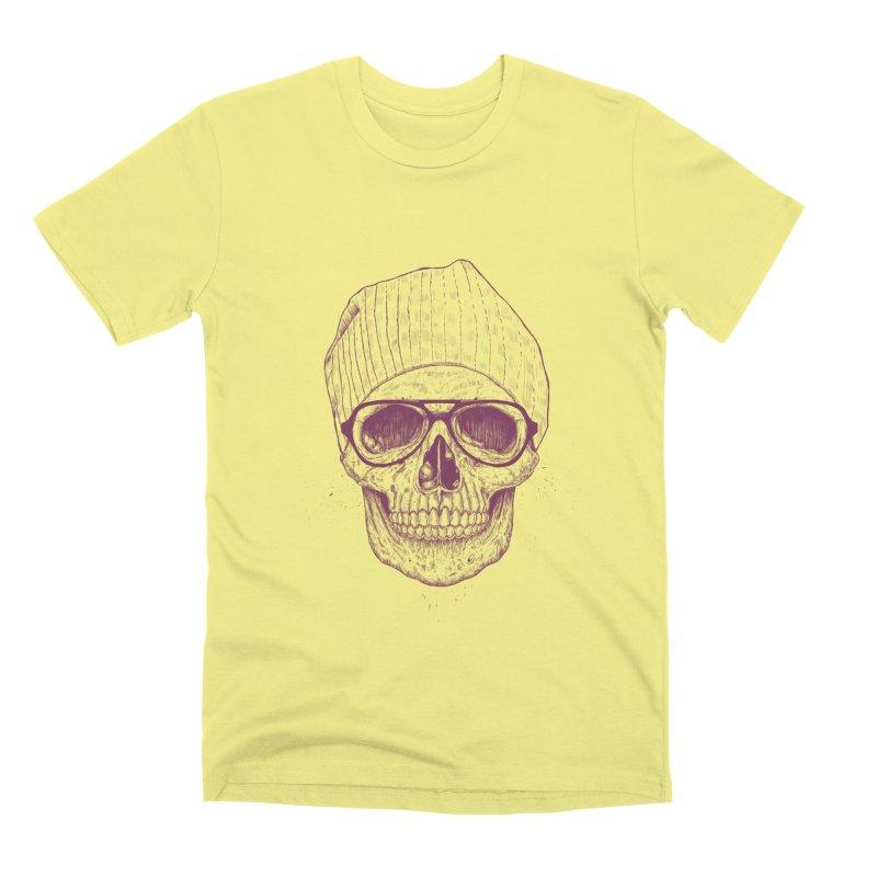 Cool skull Men's Premium T-Shirt by Balazs Solti