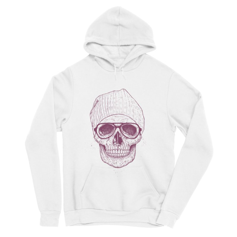 Cool skull Women's Sponge Fleece Pullover Hoody by Balazs Solti