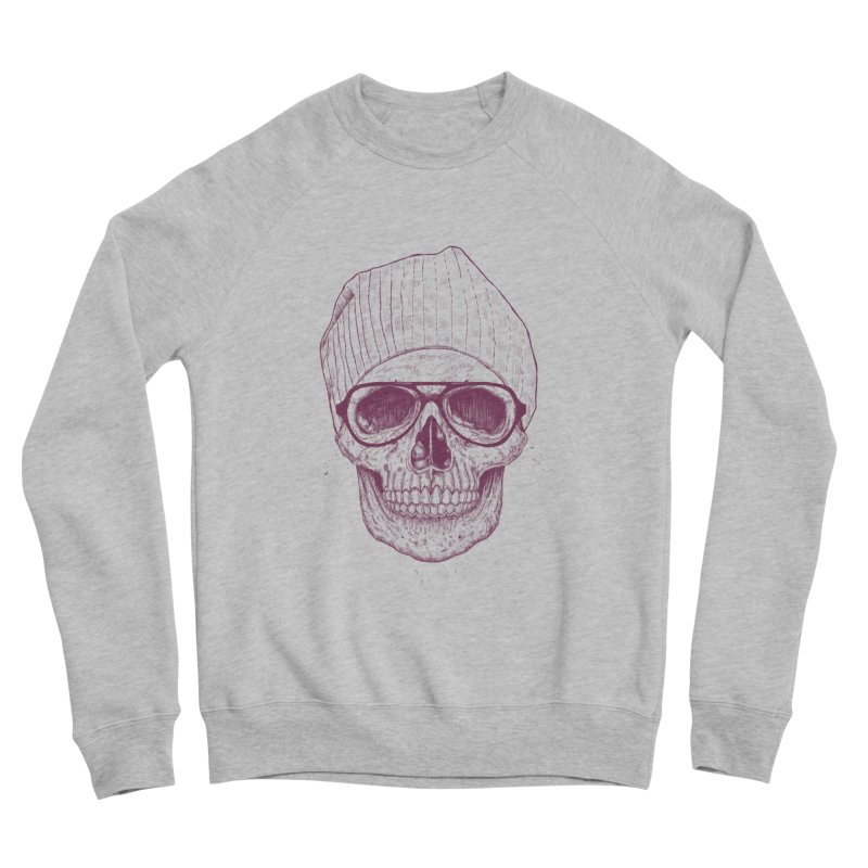Cool skull Women's Sponge Fleece Sweatshirt by Balazs Solti