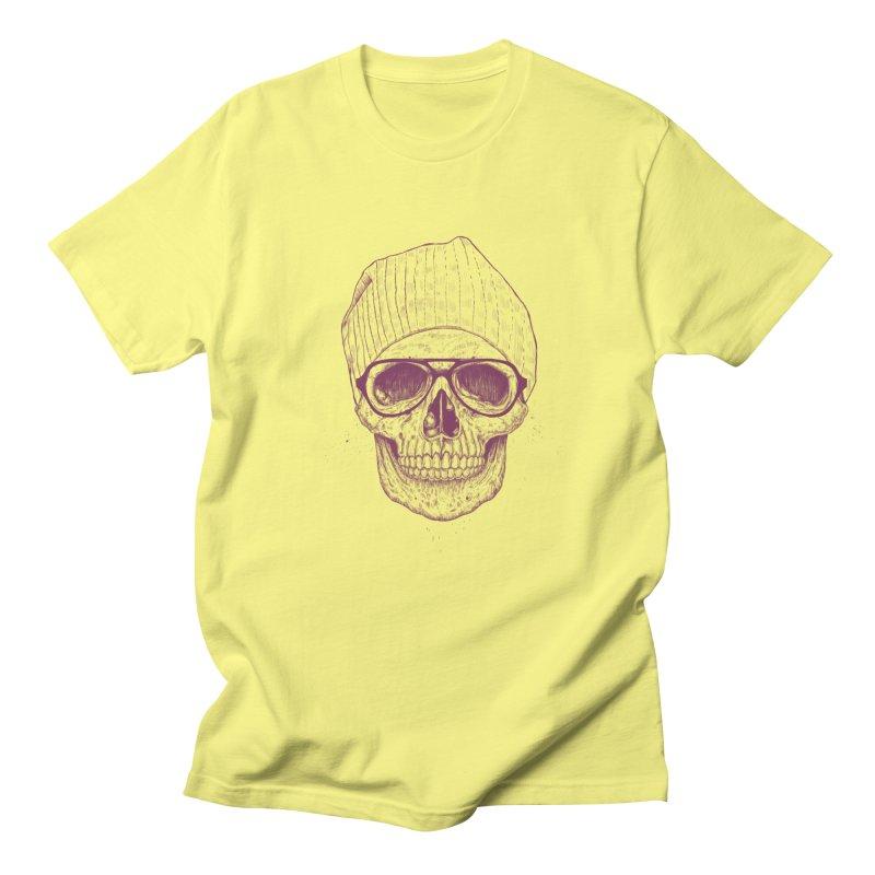 Cool skull Men's T-Shirt by Balazs Solti