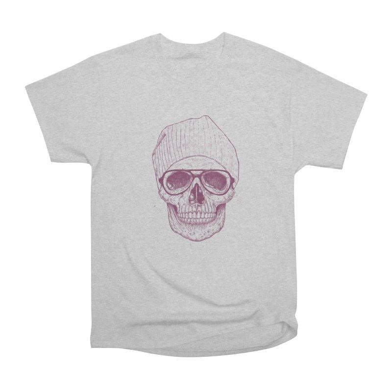 Cool skull Men's Heavyweight T-Shirt by Balazs Solti