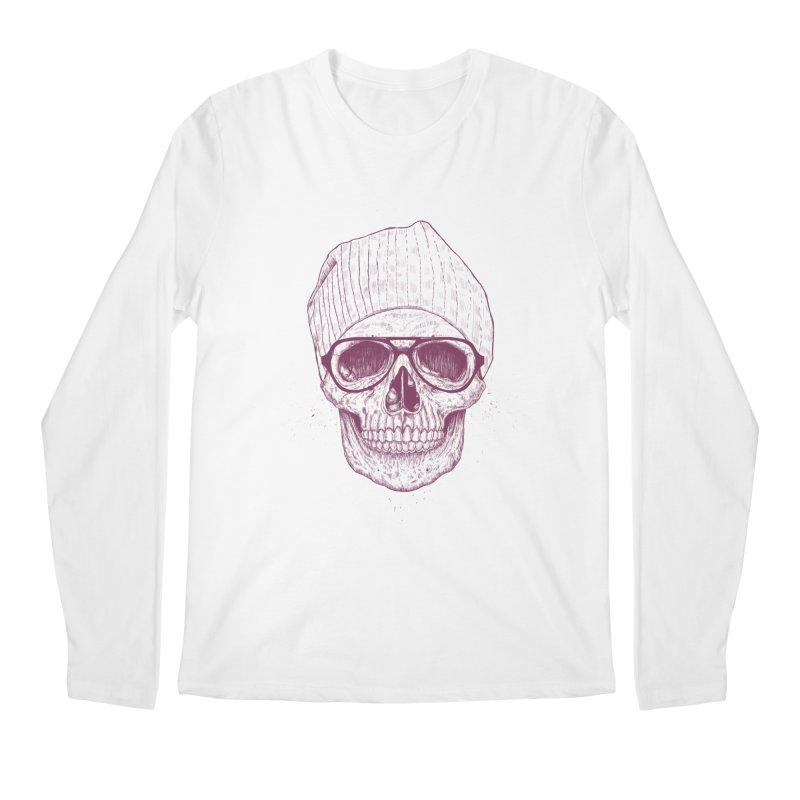 Cool skull Men's Regular Longsleeve T-Shirt by Balazs Solti