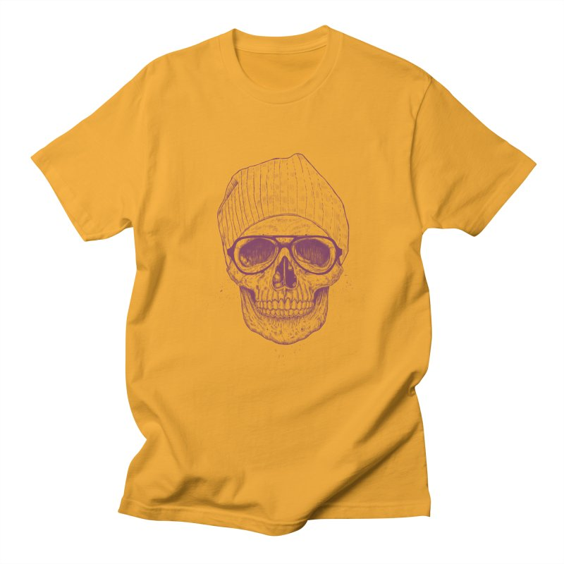 Cool skull Women's Regular Unisex T-Shirt by Balazs Solti