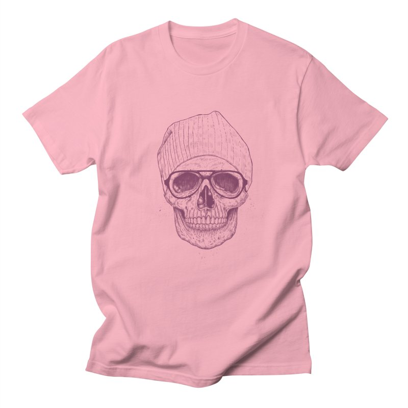 Cool skull Women's Regular Unisex T-Shirt by Balazs Solti