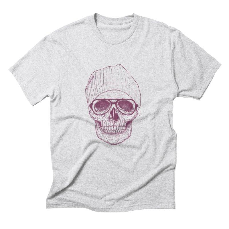 Cool skull Men's Triblend T-Shirt by Balazs Solti