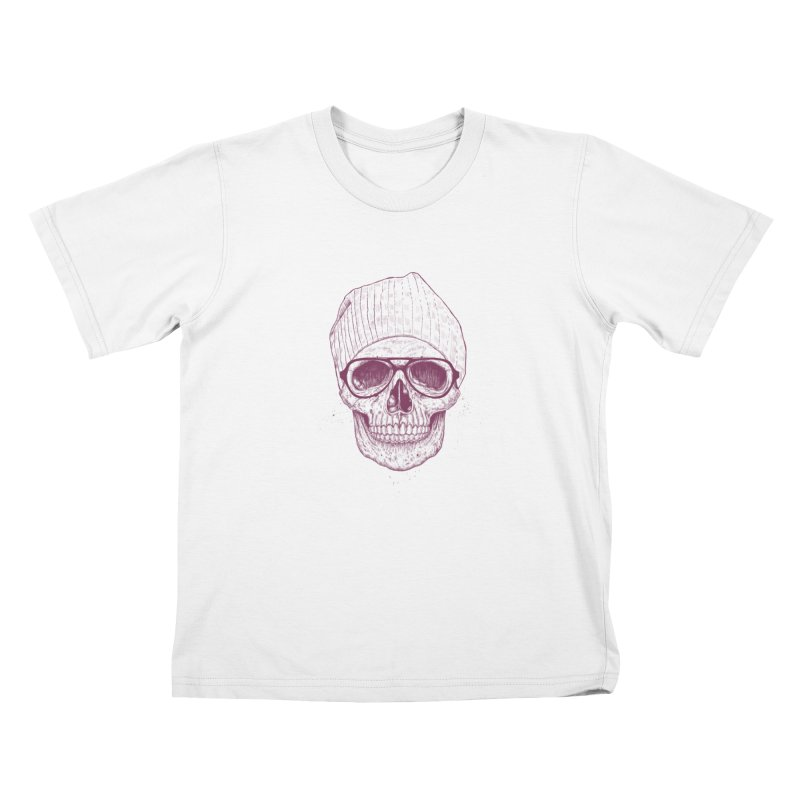 Cool skull Kids Toddler T-Shirt by Balazs Solti