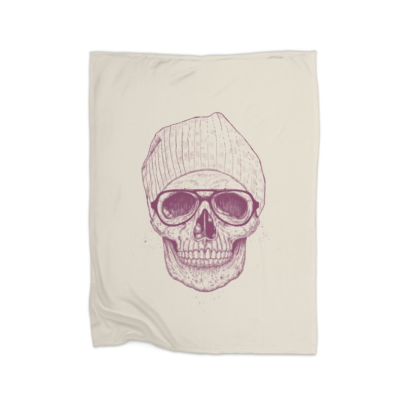 Cool skull Home Blanket by Balazs Solti