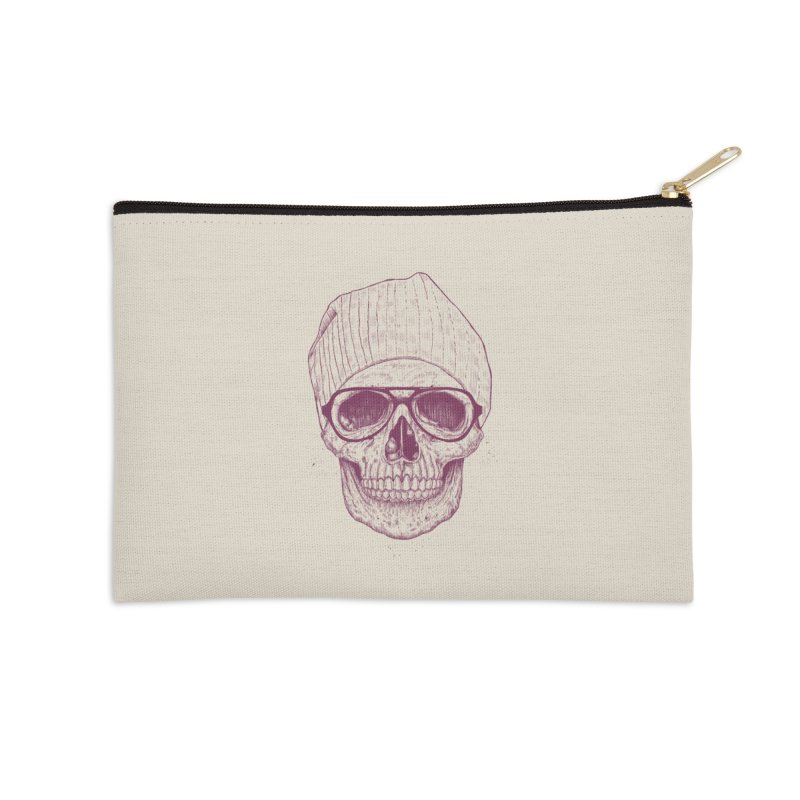 Cool skull Accessories Zip Pouch by Balazs Solti