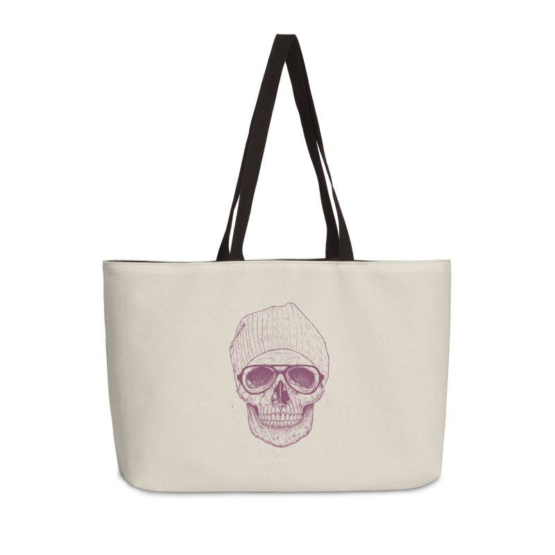 Cool skull Accessories Weekender Bag Bag by Balazs Solti